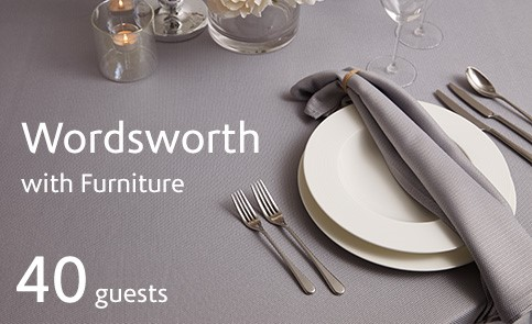 Wordsworth With Furniture For 40 Guests 483X295
