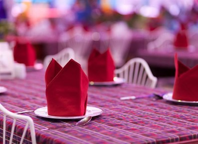 Five Creative Napkin Folding Ideas 1