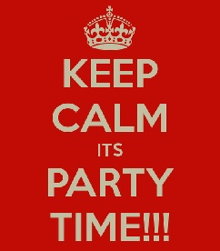 keep calm its party time