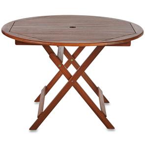 oakland round garden table 110cms garden furniture allens hire rh allenshire co uk round table oakland round table oakland telegraph