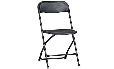 Black Samsonite Folding Chair
