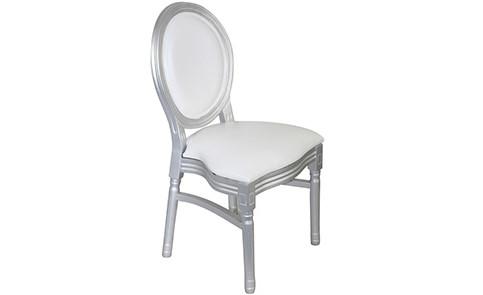 Pleasant Silver Louis Chair Camellatalisay Diy Chair Ideas Camellatalisaycom